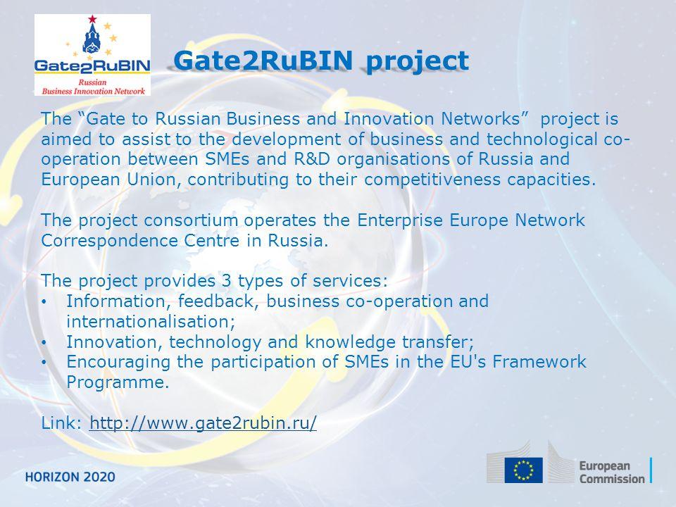 Gate2RuBIN project