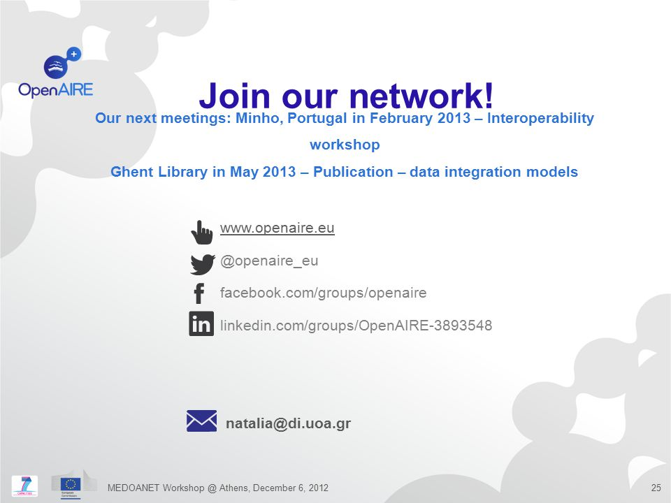 Ghent Library in May 2013 – Publication – data integration models