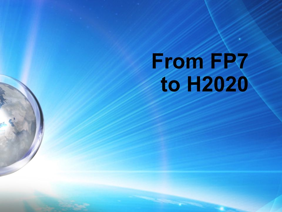 From FP7 to H2020