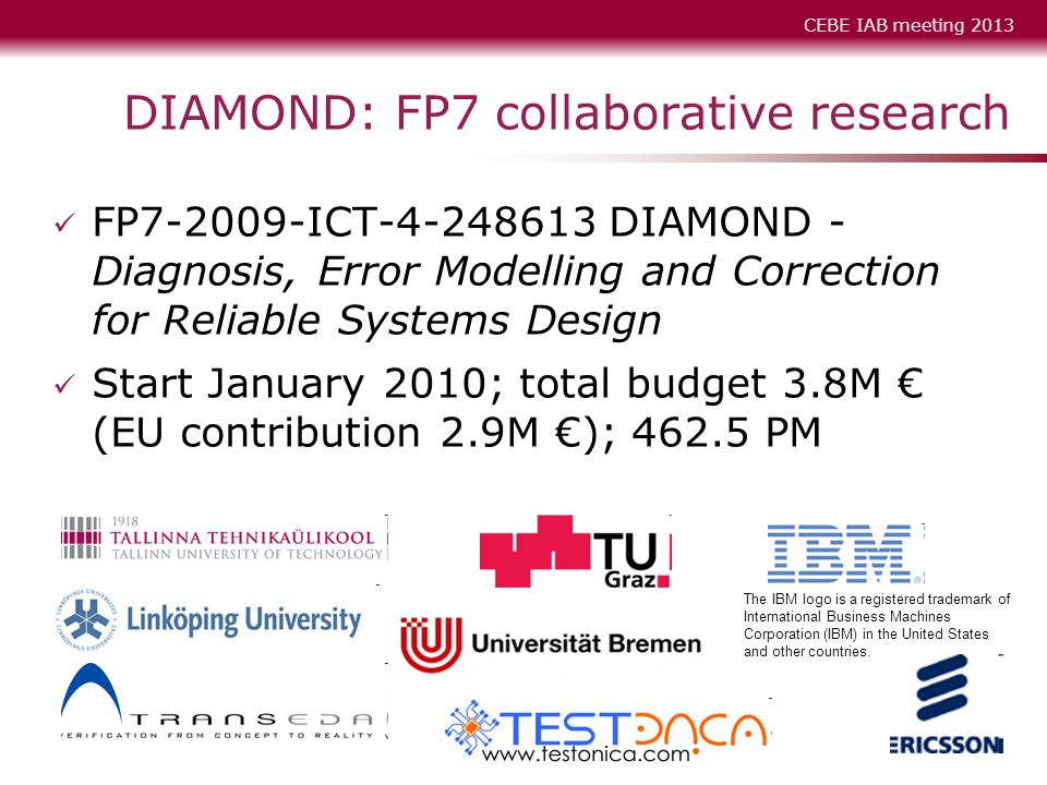 DIAMOND: FP7 collaborative research
