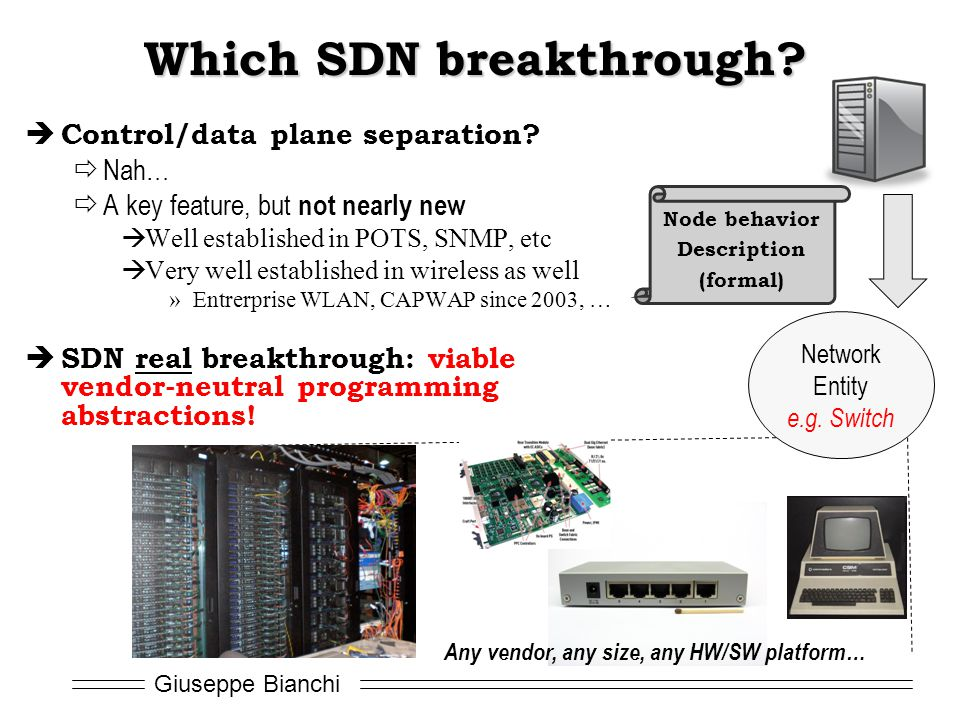 Which SDN breakthrough