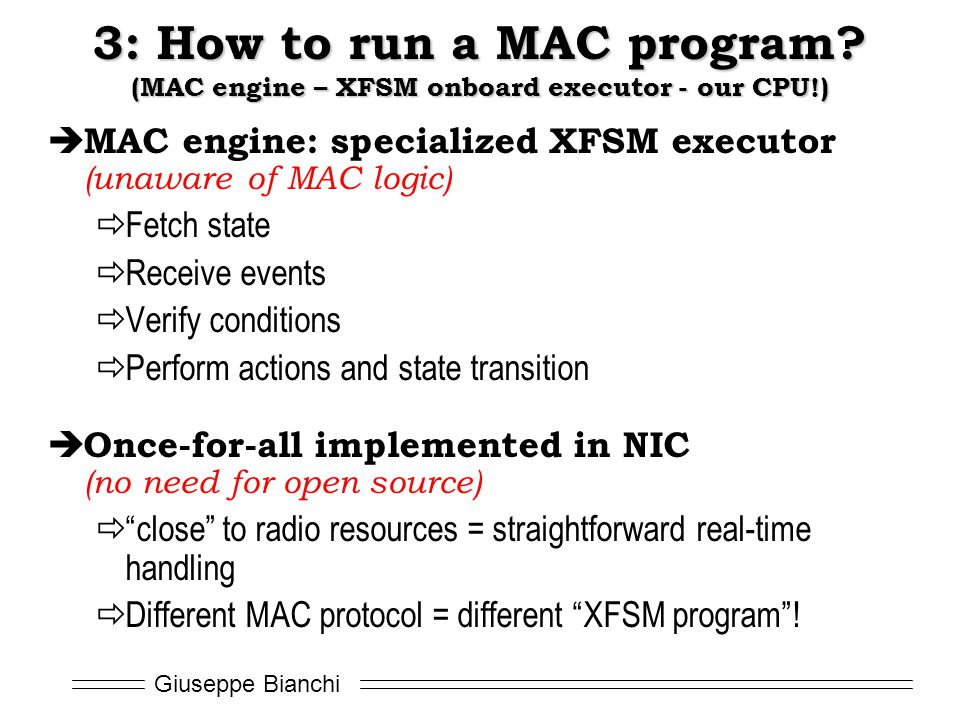 3: How to run a MAC program