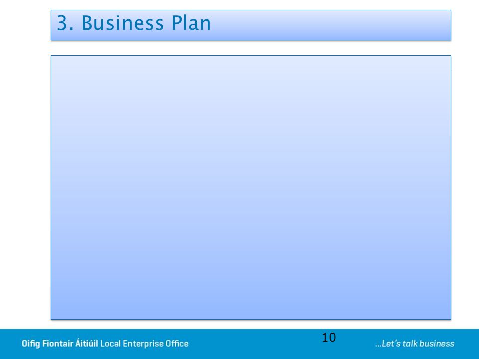 3. Business Plan