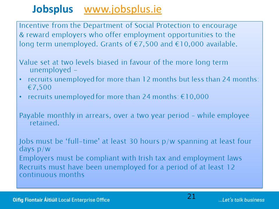 Jobsplus www.jobsplus.ie