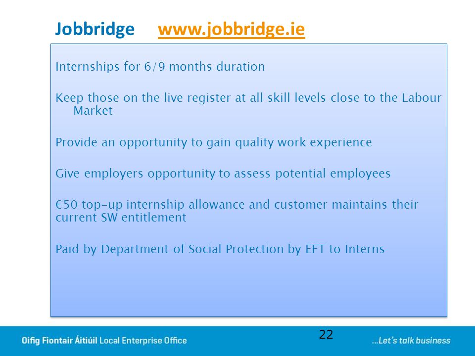 Jobbridge www.jobbridge.ie