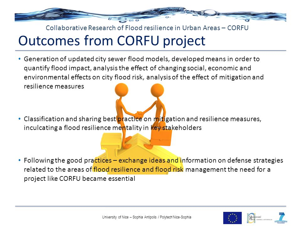 Outcomes from CORFU project