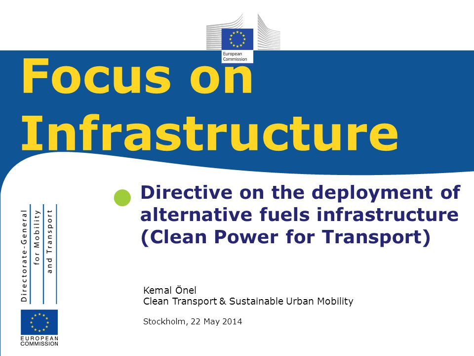 Focus on Infrastructure
