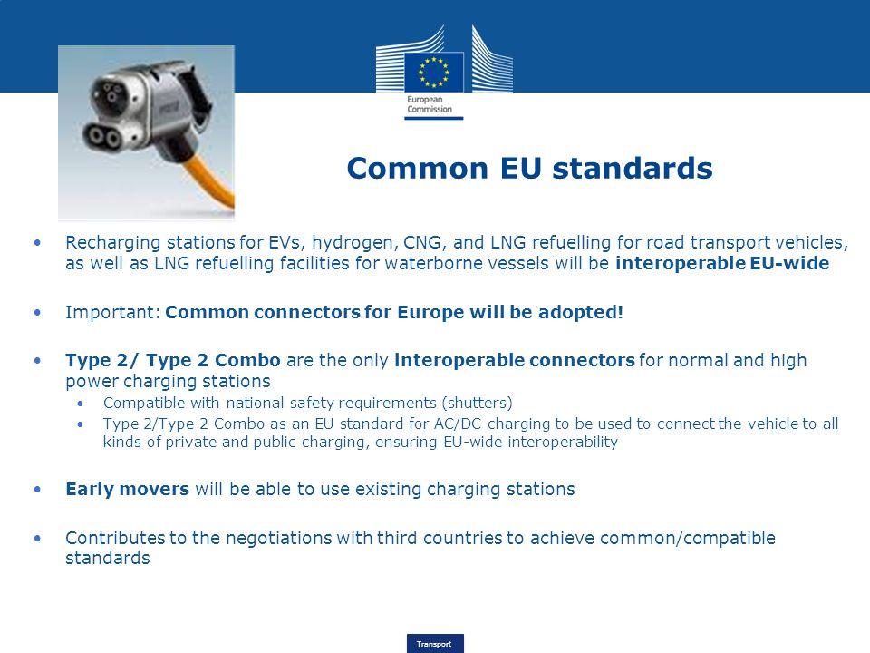 Common EU standards