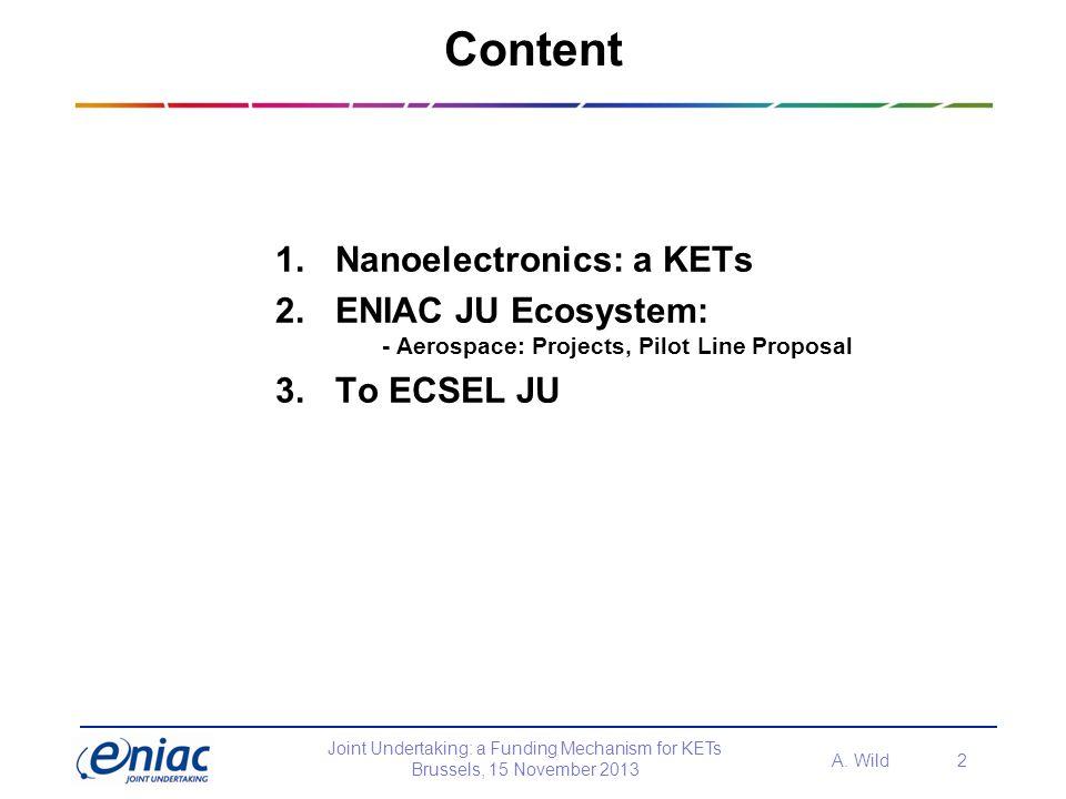Content Nanoelectronics: a KETs