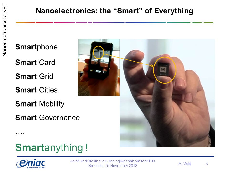Nanoelectronics: the Smart of Everything