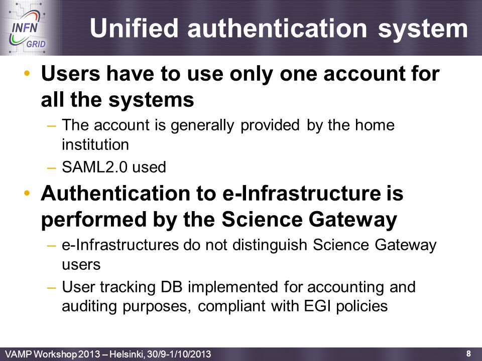 Unified authentication system