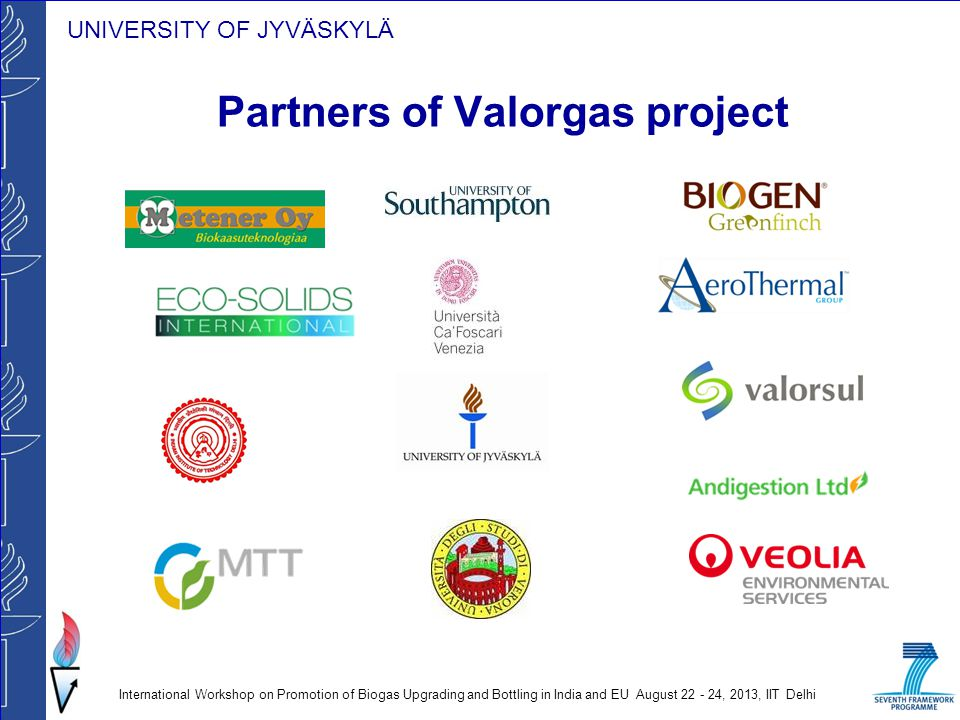 Partners of Valorgas project