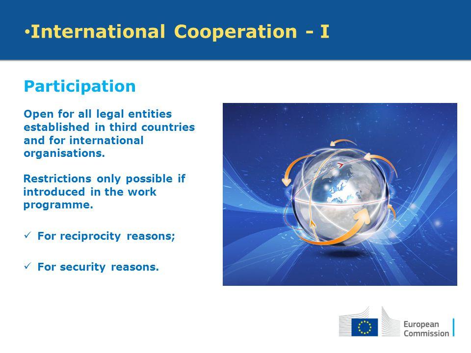 International Cooperation - I