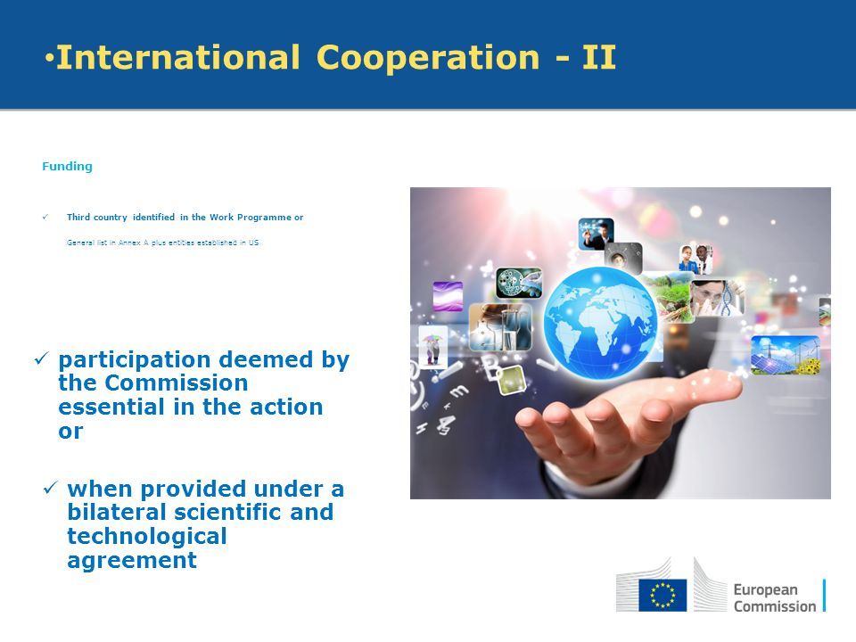 International Cooperation - II