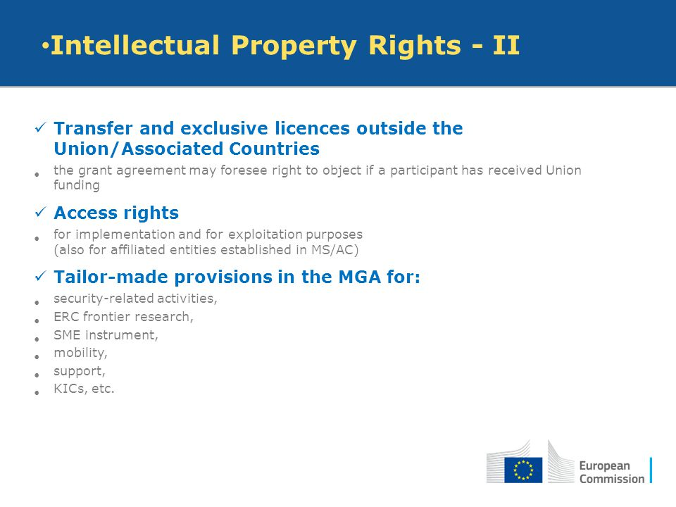 Intellectual Property Rights - II