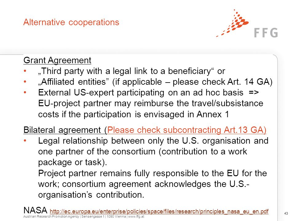 Two previous complementary projects fostering the strategic U.S. – EU S&T cooperation.