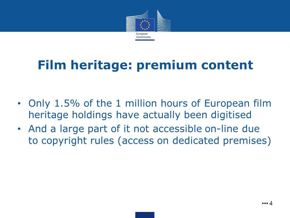 Film heritage: premium content