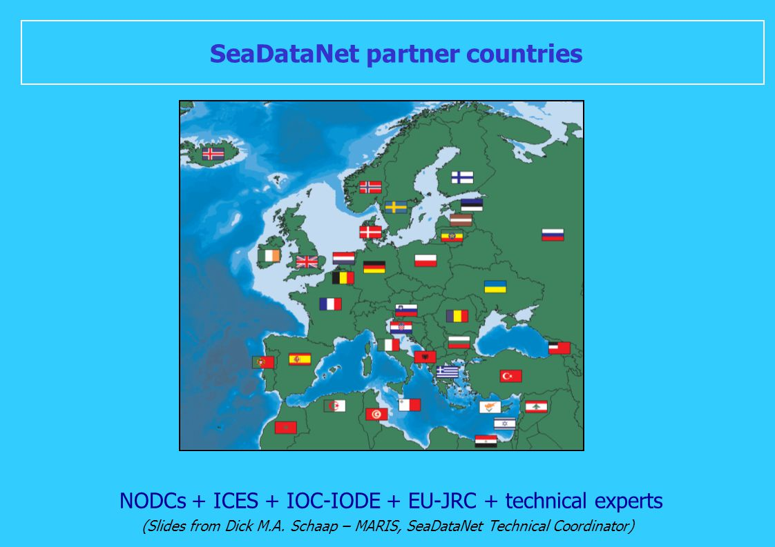SeaDataNet partner countries
