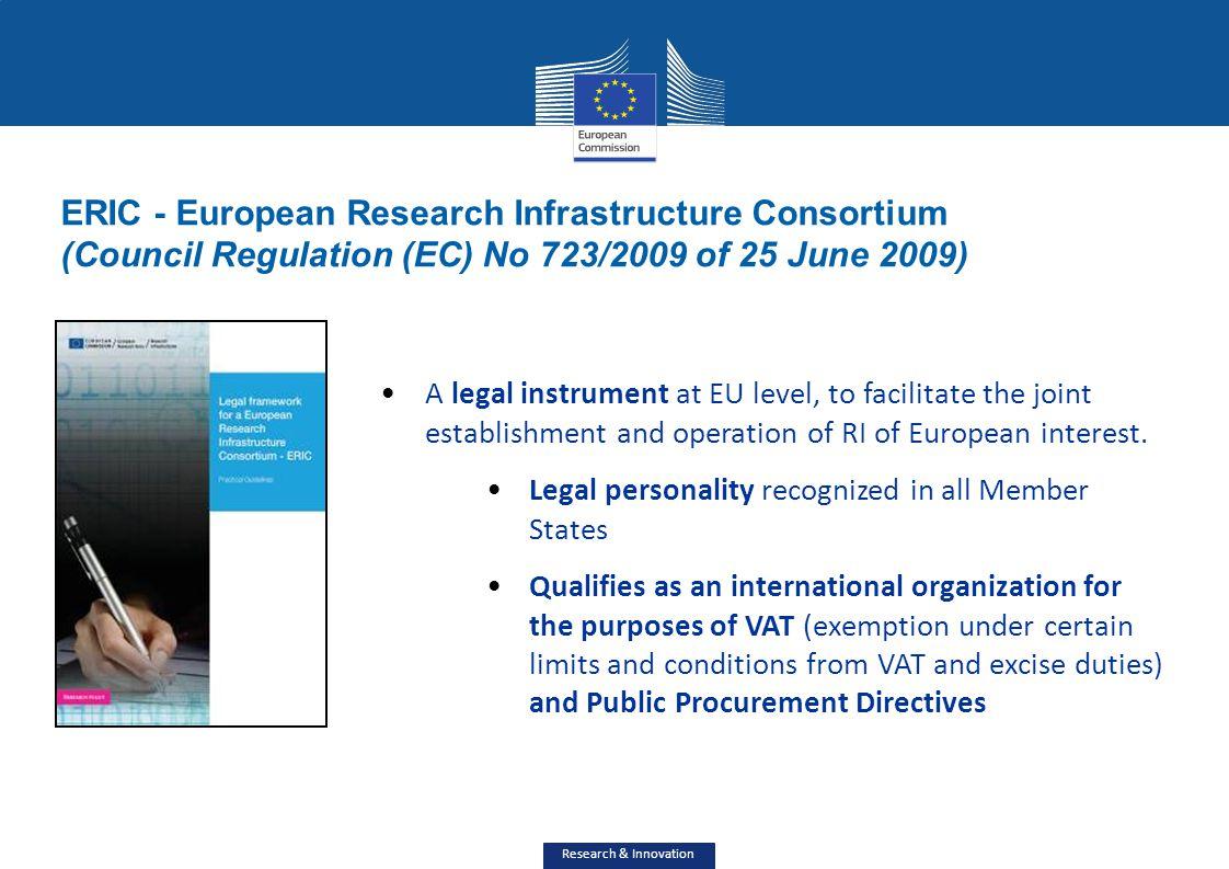 ERIC - European Research Infrastructure Consortium