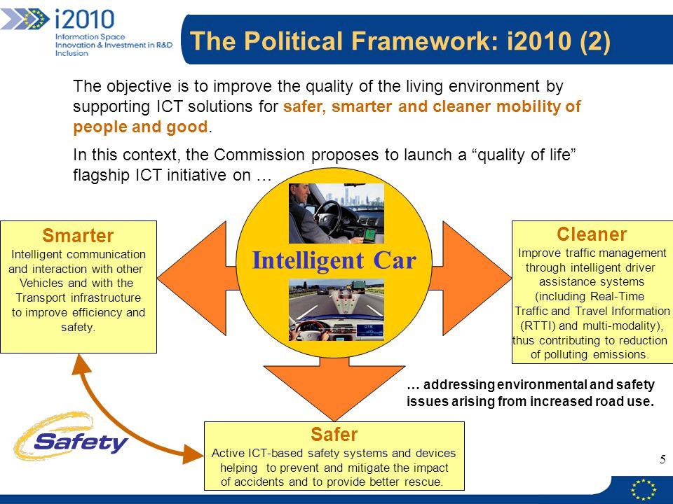 The Political Framework: i2010 (2)