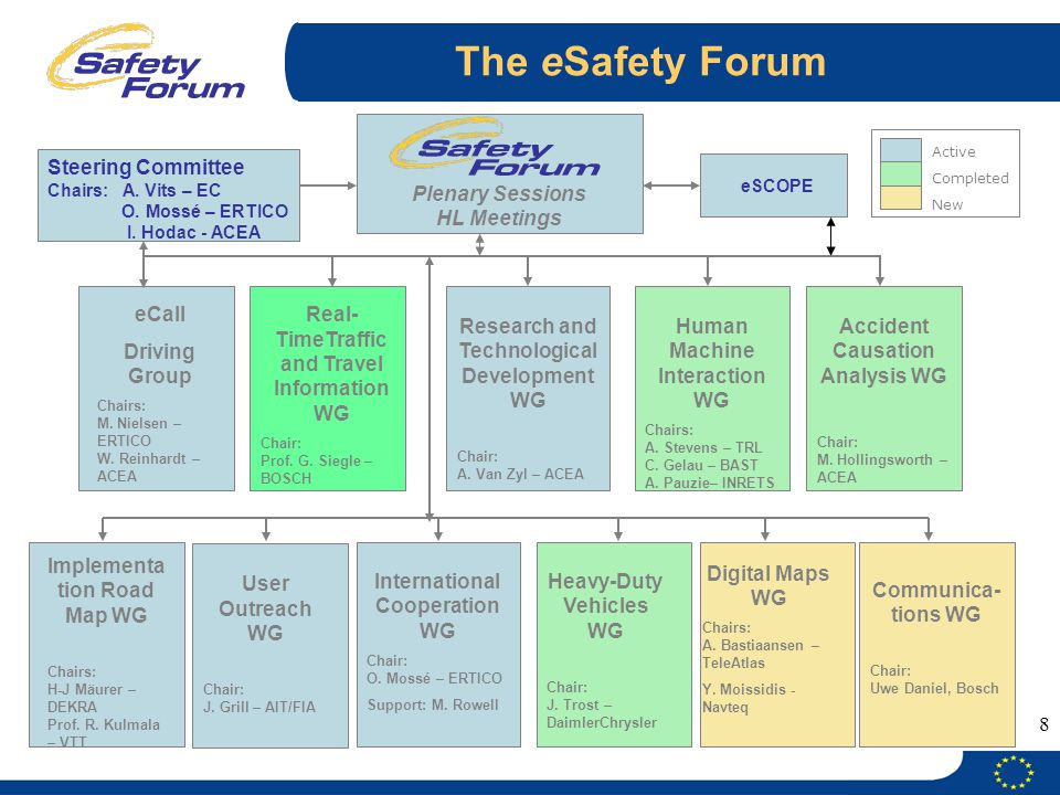 The eSafety Forum Plenary Sessions HL Meetings
