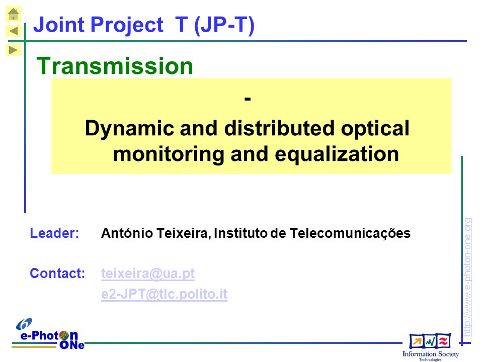 Dynamic and distributed optical monitoring and equalization