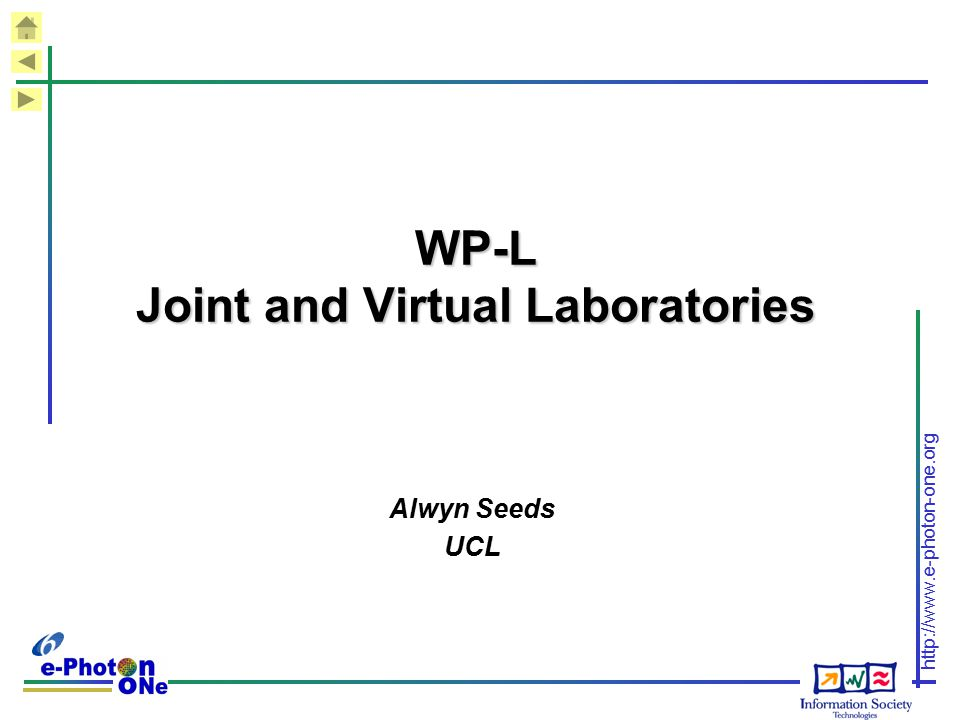 WP-L Joint and Virtual Laboratories