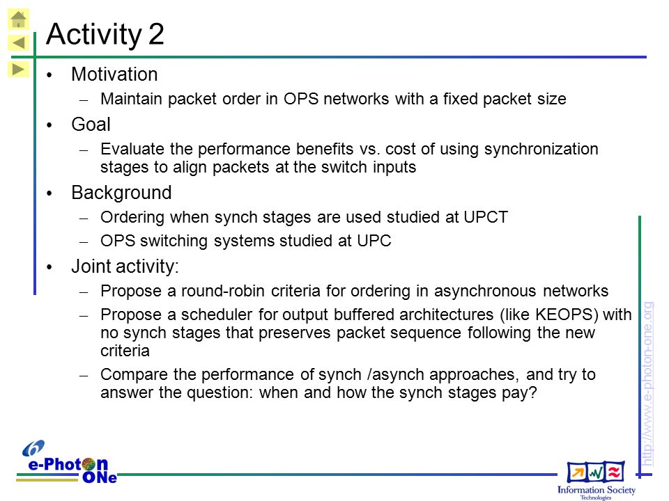 Activity 2 Motivation Goal Background Joint activity: