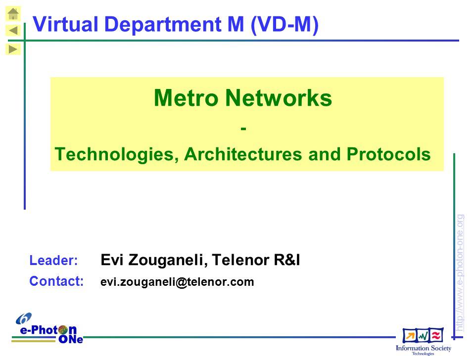 Virtual Department M (VD-M)