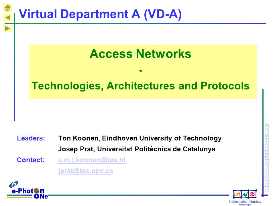 Virtual Department A (VD-A)