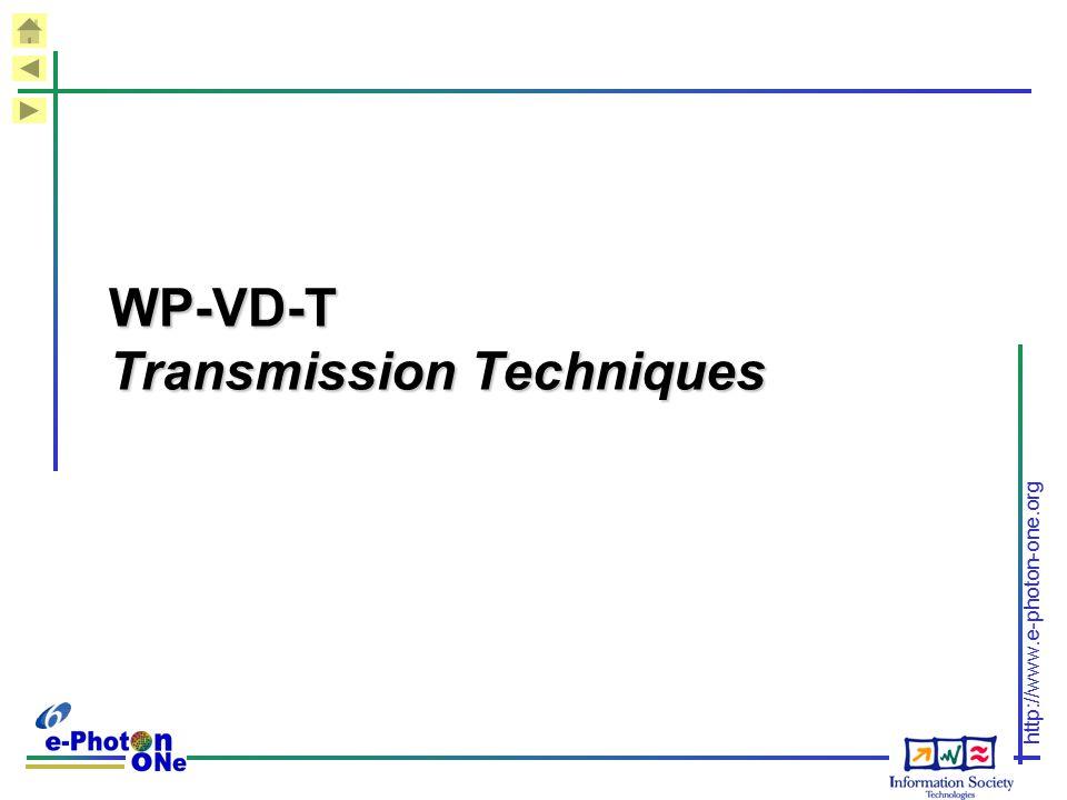 WP-VD-T Transmission Techniques
