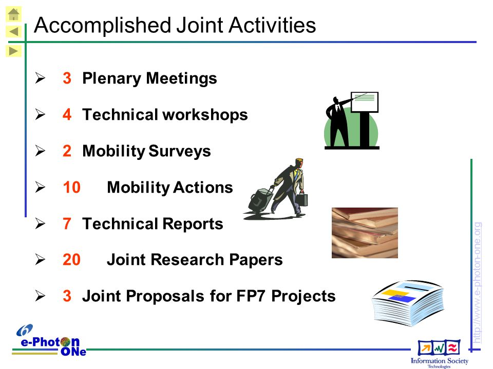 Accomplished Joint Activities