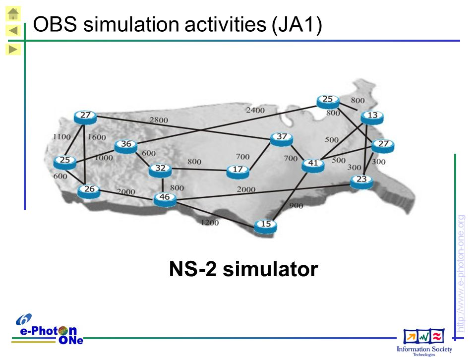 OBS simulation activities (JA1)
