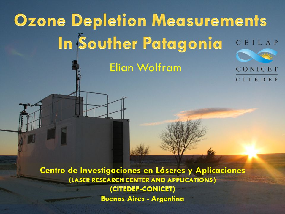 Ozone Depletion Measurements In Souther Patagonia