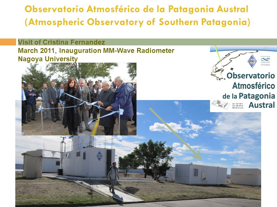 Observatorio Atmosférico de la Patagonia Austral (Atmospheric Observatory of Southern Patagonia)