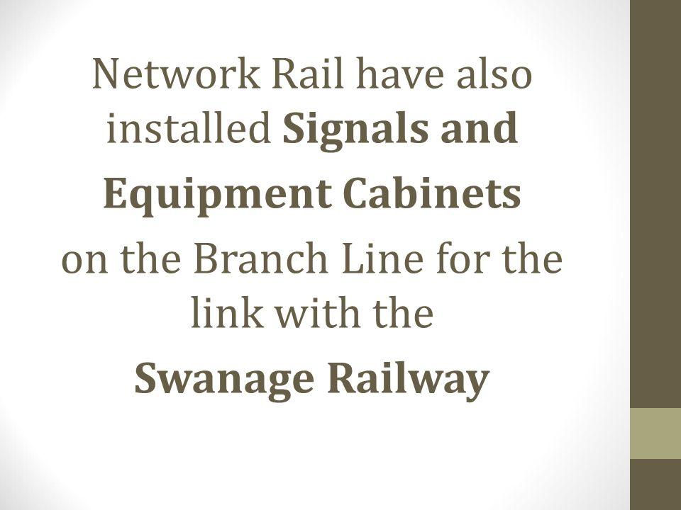 Equipment Cabinets Swanage Railway