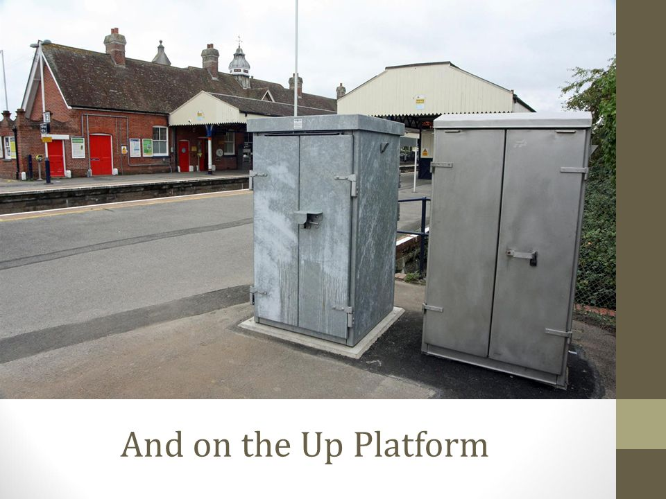 And on the Up Platform