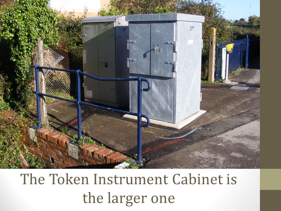 The Token Instrument Cabinet is the larger one