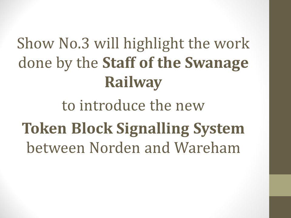 Token Block Signalling System between Norden and Wareham