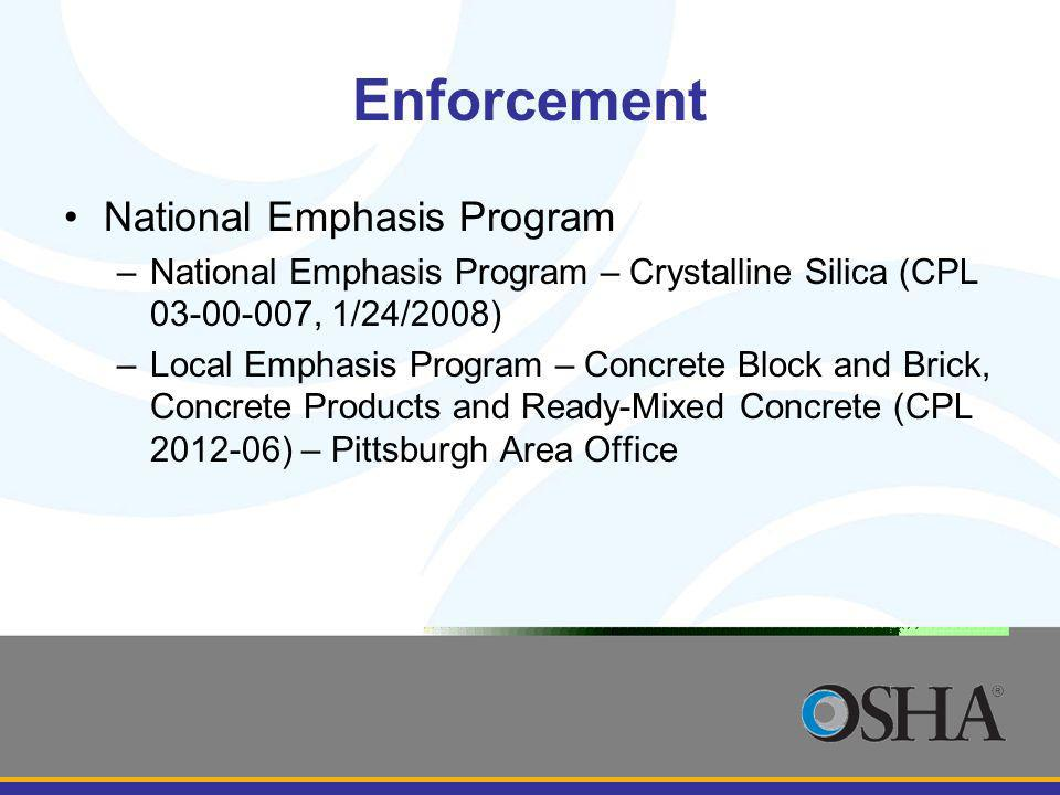 Enforcement National Emphasis Program