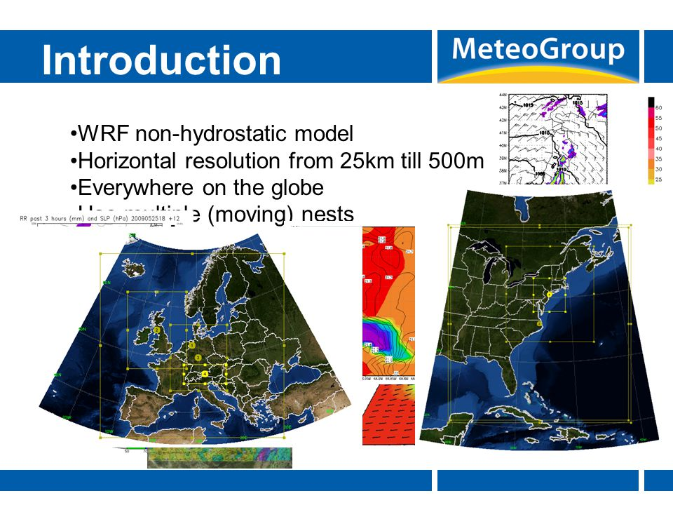 Introduction WRF non-hydrostatic model