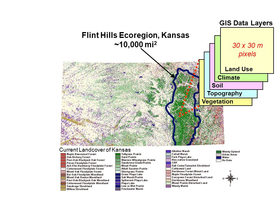 Flint Hills Ecoregion, Kansas