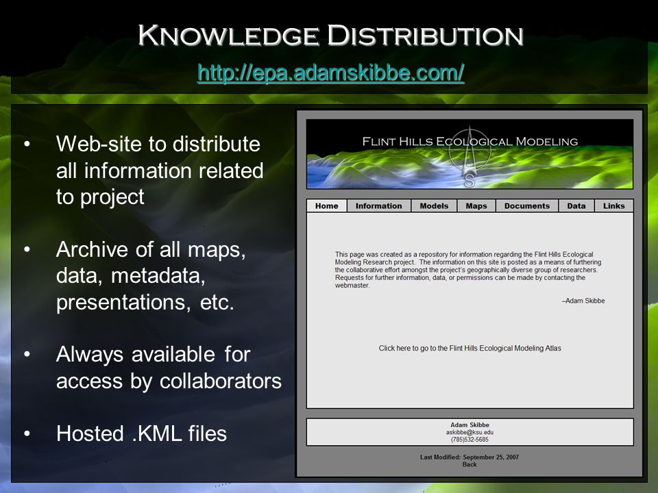 Knowledge Distribution