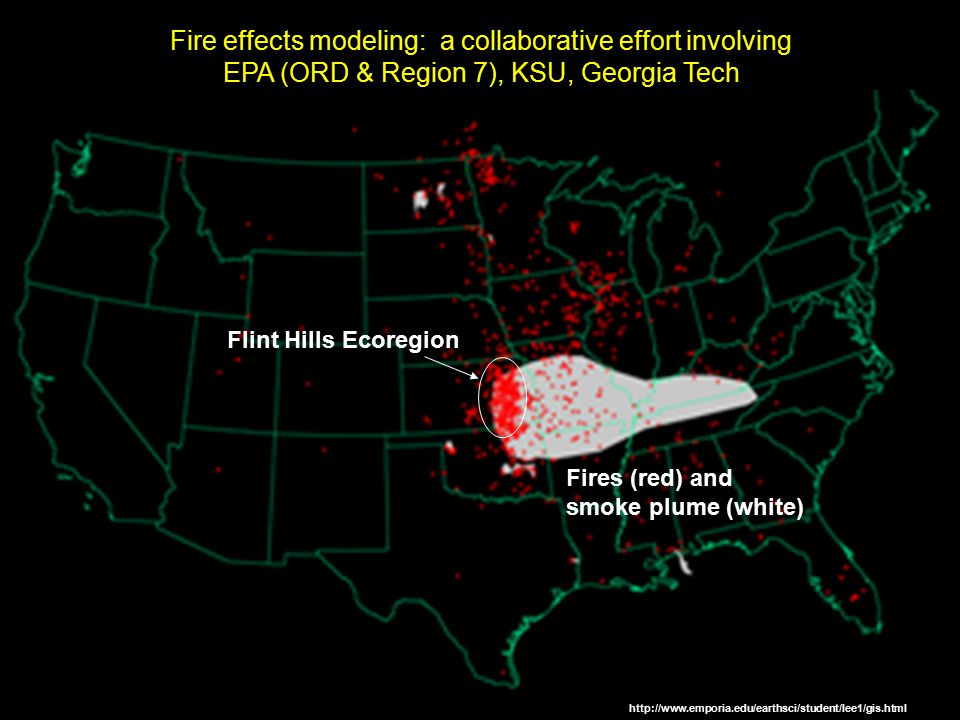 Fire effects modeling: a collaborative effort involving