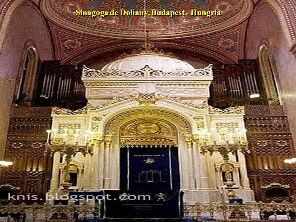 Sinagoga de Dohany, Budapest - Hungría