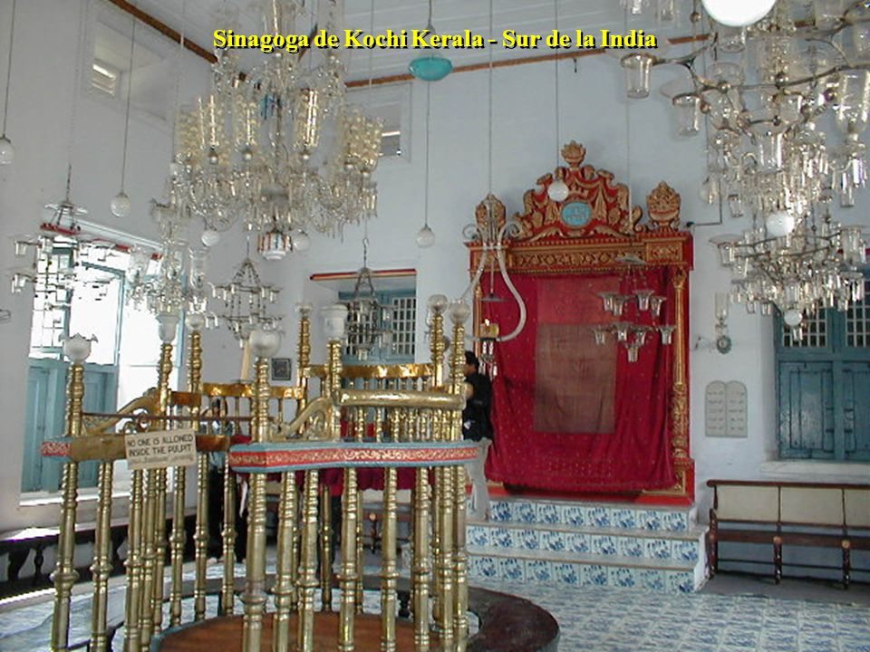 Sinagoga de Kochi Kerala - Sur de la India