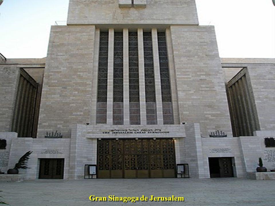 Gran Sinagoga de Jerusalem