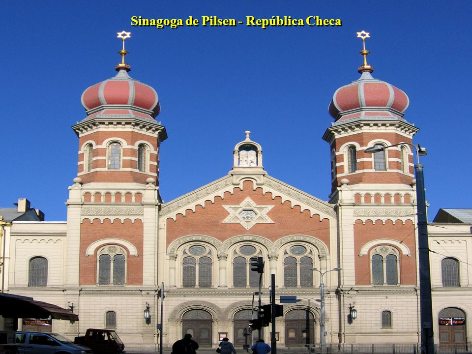 Sinagoga de Pilsen - República Checa