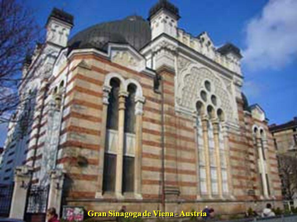 Gran Sinagoga de Viena - Austria