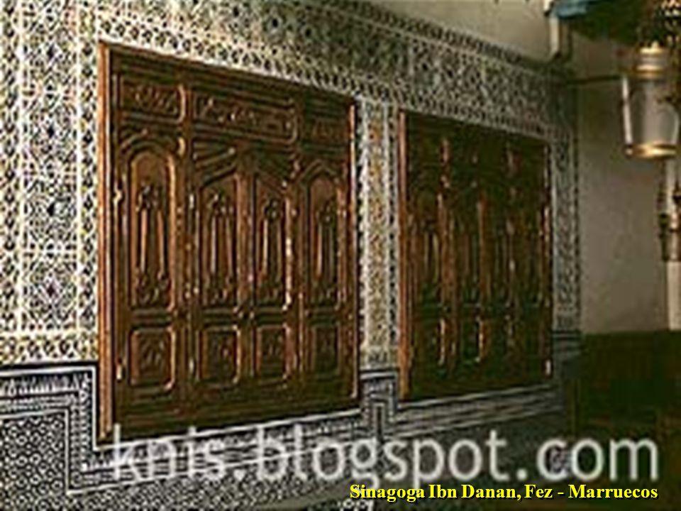 Sinagoga Ibn Danan, Fez - Marruecos